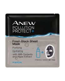 ANEW POLLUTION PROTECT+ FRESH BLACK SHEET MASK (3MASKS)