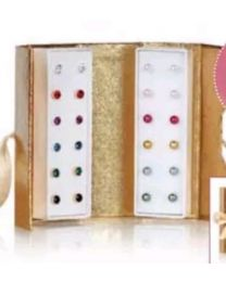 TAWNIE EARRING GIFTSET TWO-TONE
