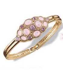 LAVENDER PETAL BANGLE