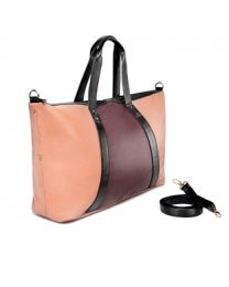 ABREE COLOURBLOCK WEEKENDER BAG