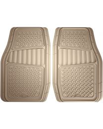 ARMORALL FLOOR MAT 2PC RUBBER TRUCK/SUV (GREY)
