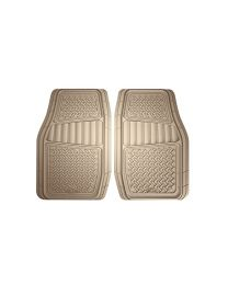 ARMORALL FLOOR MAT 2PC RUBBER TRUCK/SUV (TAN)