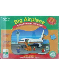 Puzzle Kit - Big Air Plain - Learning Journey