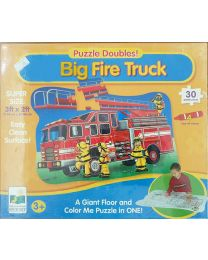 Puzzle Kit - Big Fire Truck  - Learning Journey