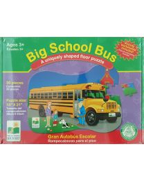 Puzzle Kit - Big School Bus - Learning Journey