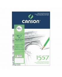 CANSON 1557 SKETCH PAD A3 SIZE 120GSM 50 SHEETS