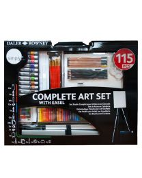SIMPLY COMPLETE ART SET 115 PCS