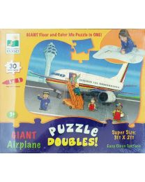 Puzzle Kit - Giant Air Plain  - Learning Journey