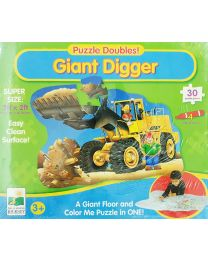 Puzzle Kit - Giant Digger  - Learning Journey