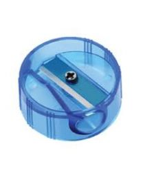 NATARAJ NEON CIRCLE SHARPENERS-ASSORTED COLOURS PACKED 20 PCS IN A JAR