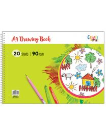 A4 Drawing Book Spiral - 40 Pages (20 sheets)