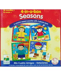 Puzzle Kit - 4 in A Box (Seasons)  - Learning Journey