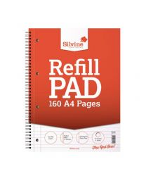 A4 TWIN WIRE BOUND REFILL PAD